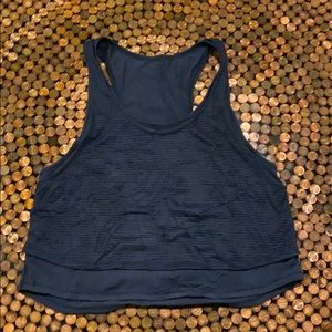 Lululemon Nazy Crop Tank Top